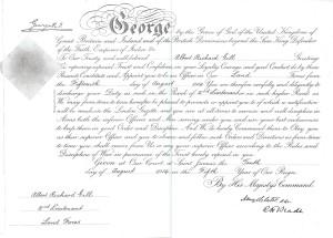 ARG's commission - 15 August 1914