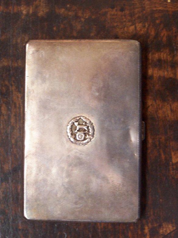 ARG cigarette case - front