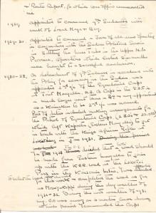 ARG handwritten service record to 1932 - pt2