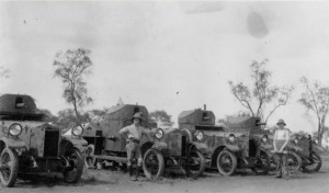Rolls Royce armoured cars in East Africa