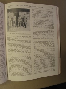 Letters from the Front, April 1915 - RJ May 1915 p139