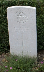 Maj GH Parker - Ploegsteert Church