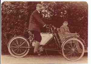 Ormonde motorbike and forecarriage - AAG & son, David