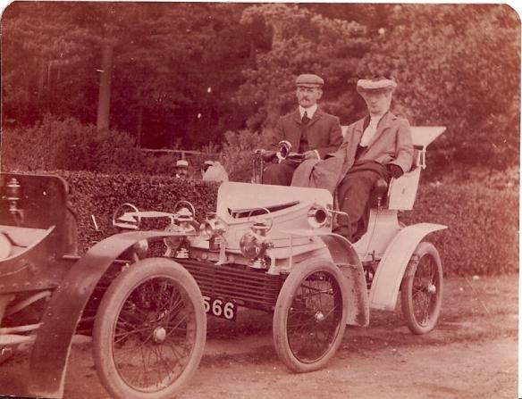 Vauxhall 5 HP, AA Gill's car