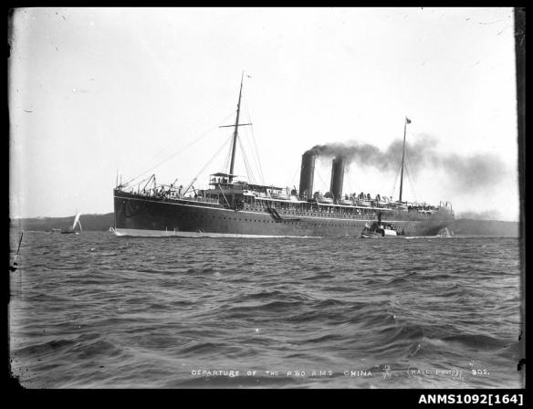 RMS China - 1897