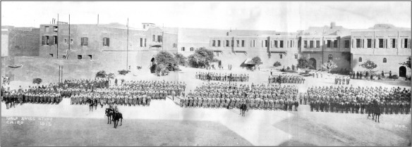 The 28th AIF, Cairo, August 1915